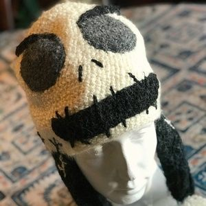 EUC Perika Hand-Knitted Skull Beanie, Adult Size